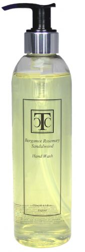 Bergamot Rosemary Sandalwood Hand Wash 250ml